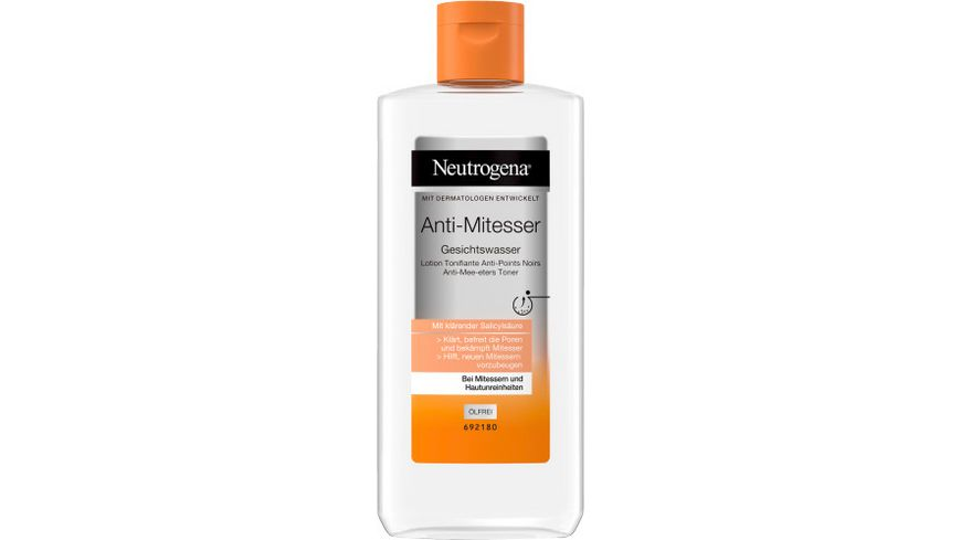 Neutrogena visibly clear Anti Mitesser Gesichtswasser