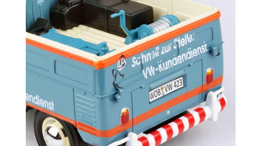 Motor Max VW Typ 2 T1 Doppelkabine 1 24 VW Kundendienst