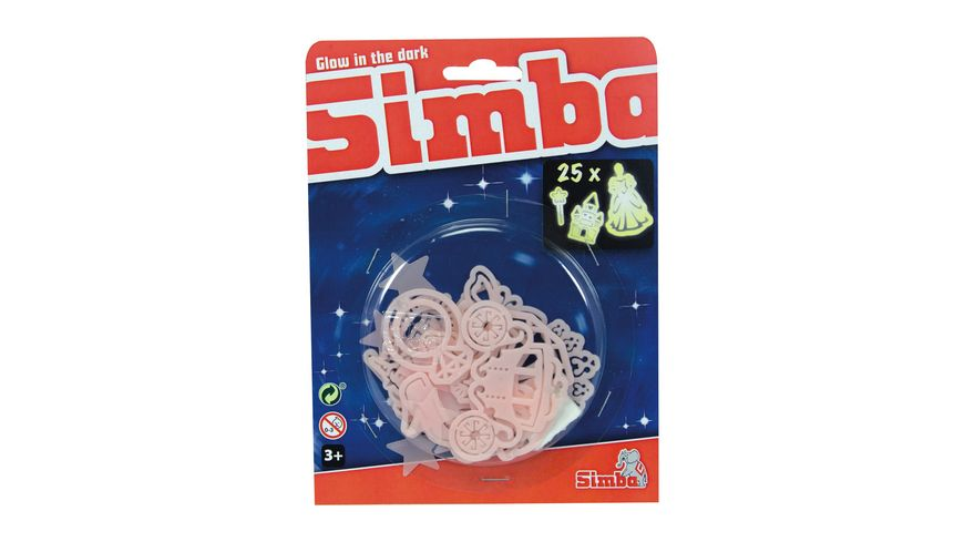 Simba Glow in the Dark Buchstaben Set