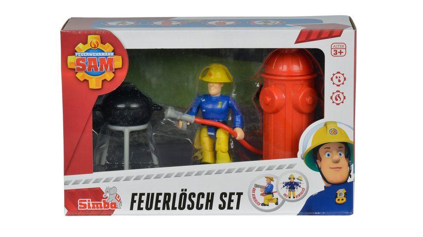 Simba Feuerwehrmann Sam Feuerloesch Set