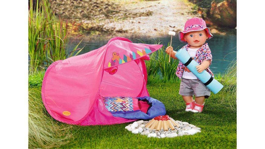 Zapf Creation Baby born Play und Fun Camping Set