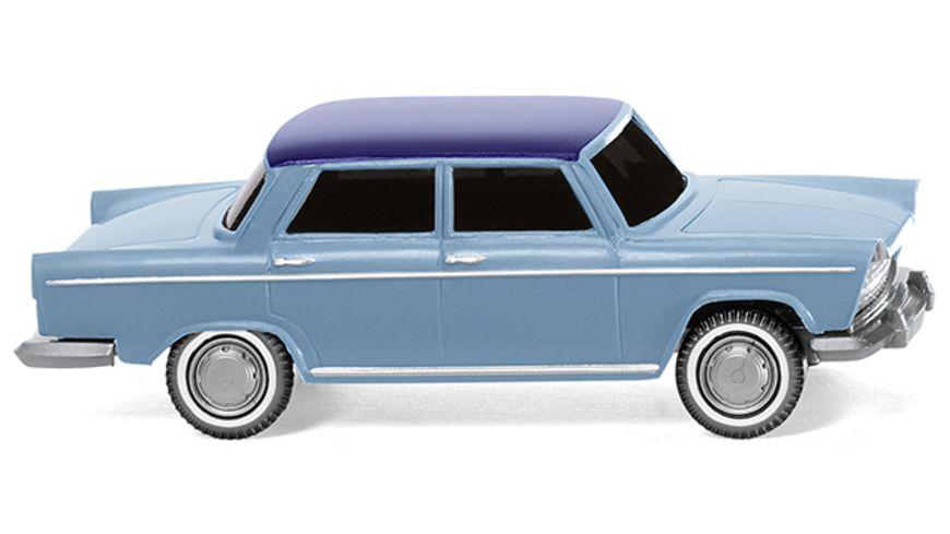 Wiking 009003 Fiat 1800 pastellblau mit nachtblauem Dach