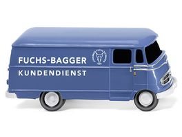 Wiking 026503 Kastenwagen MB L 319 Fuchs Bagger Kundendienst