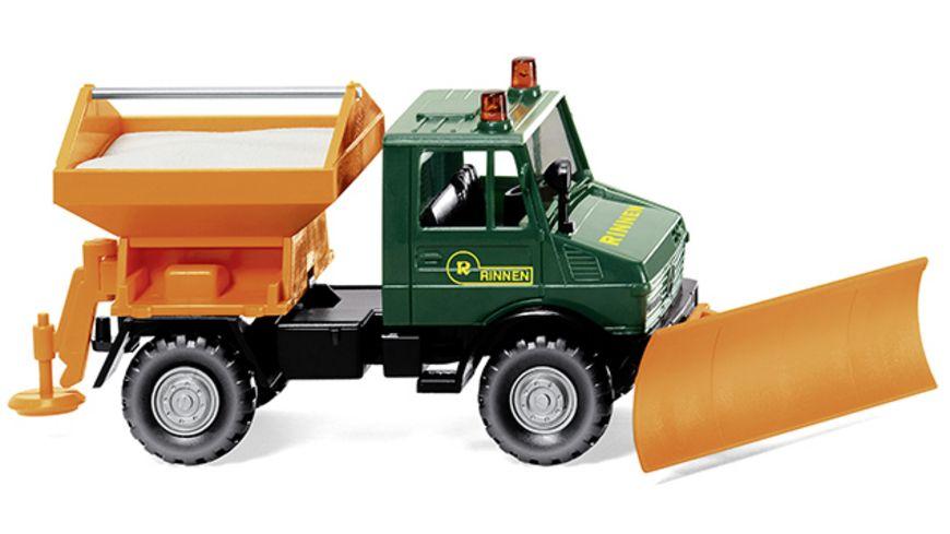 Wiking 064608 Winterdienst Unimog U 1300 Rinnen