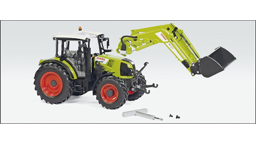 Wiking 077829 Claas Arion 430 mit Frontlader 120