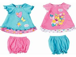 Zapf Creation Baby born Babykleidchen Schmetterling sortiert