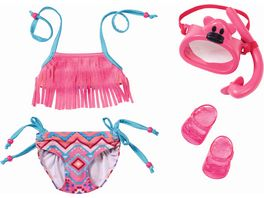 Zapf Creation Baby born Play und Fun Deluxe Schwimm Set