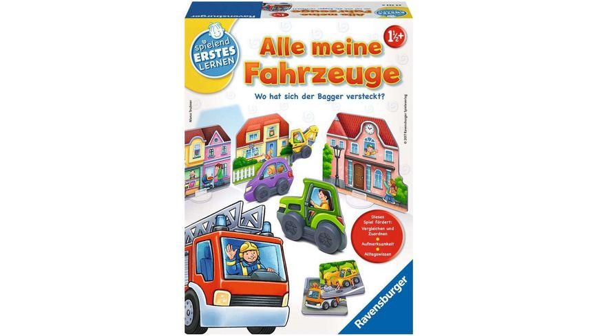Ravensburger Spiel Alle meine Fahrzeuge