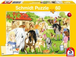 Schmidt Spiele Spass auf dem Ponyhof 60 Teile
