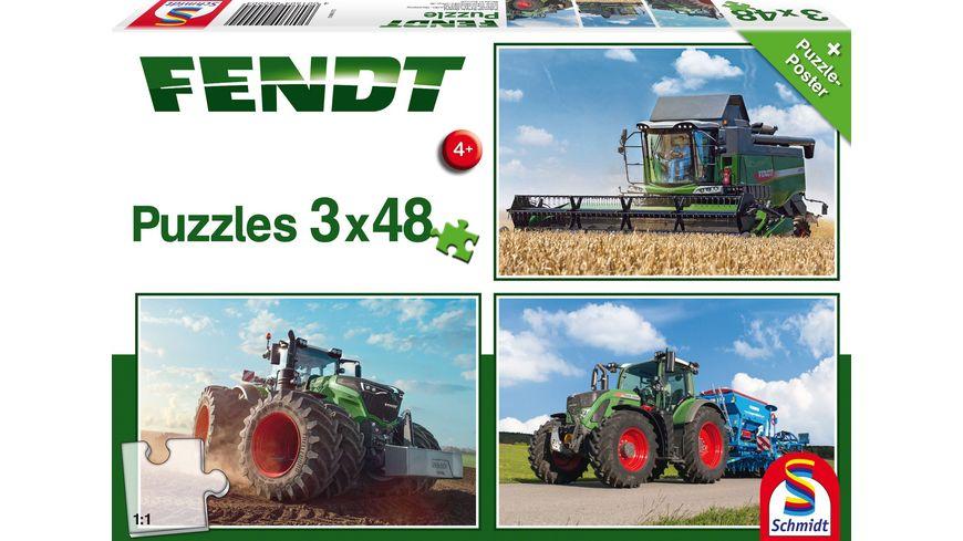 Schmidt Spiele Fendt 1050 Vario 724 Vario 6275L 48 Teile