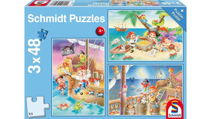 Schmidt Spiele Piratenbande 48 Teile
