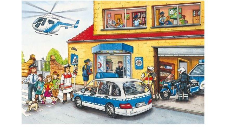 Schmidt Spiele Feuerwehr und Polizei 24 Teile