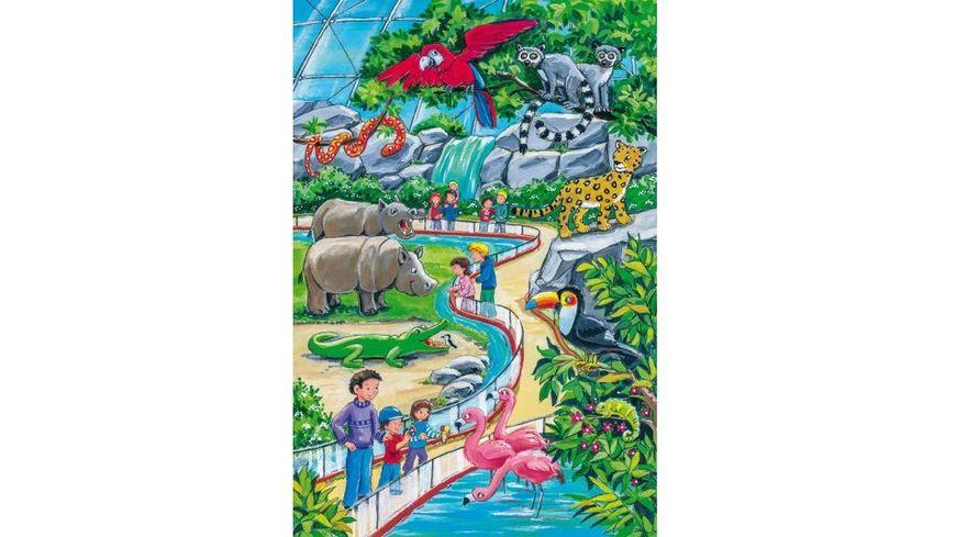 Schmidt Spiele Ein Tag im Zoo 24 Teile