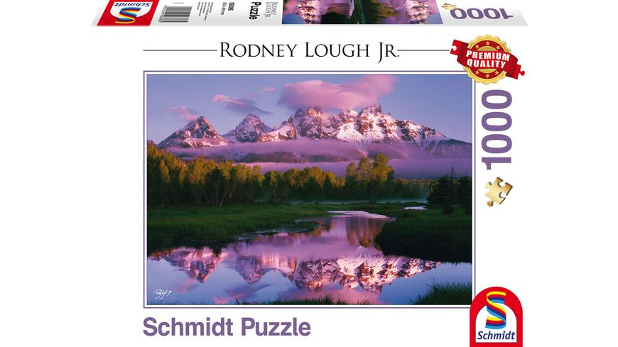 Schmidt Spiele Rodney Lough Jr Day Dreaming The Grand Teton National Park Wyoming 1000 Teile