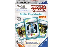Ravensburger Spiel tiptoi Wissen und Quizzen Suesse Tierkinder