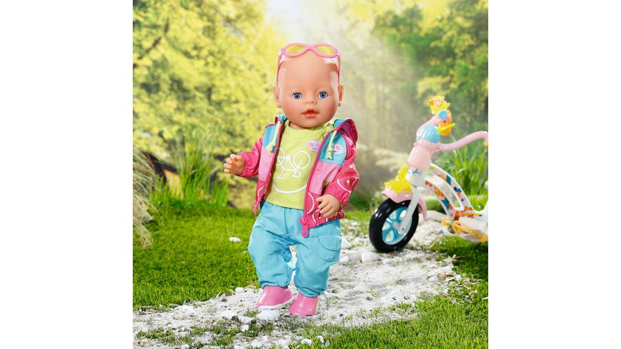 Zapf Creation Baby born Play und Fun Fahrrad Outfit