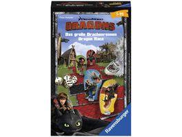 Ravensburger Spiel Dragons Das grosse Drachenrennen Wuerfelspiel
