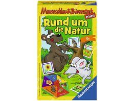 Ravensburger Spiel Mitbringspiel Mauseschlau und Baerenstark Rund um die Natur