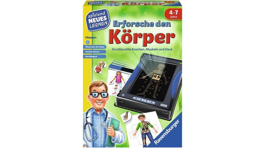 Ravensburger Spiel Erforsche den Koerper