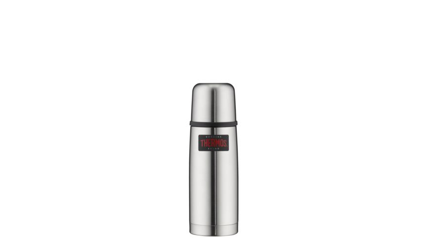 THERMOS Isolierflasche Light Compact silber 0 35l