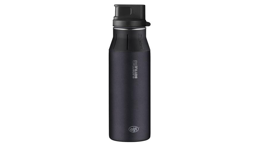 alfi Trinkflasche Pure schwarz 0 6l