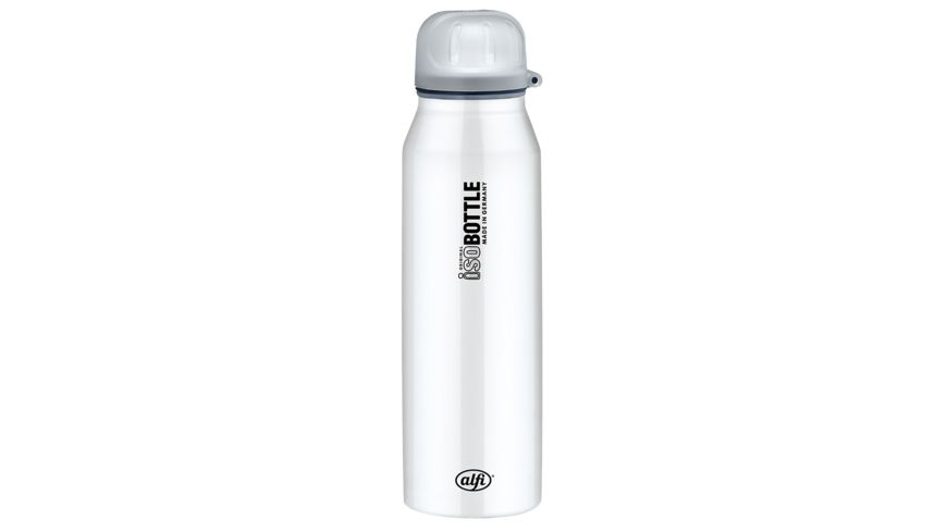 alfi Isolier Trinkflasche isoBottle II Pure weiss 0 5l