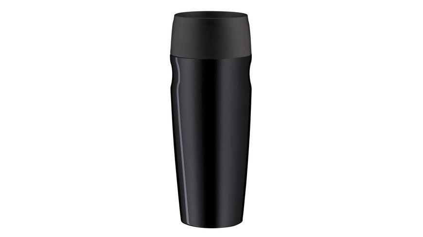 alfi Isoliertrinkbecher isoMug schwarz 0 35l