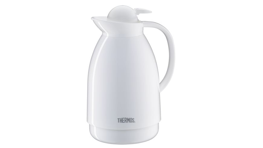 THERMOS Isolierkanne Patio weiss 1 0l