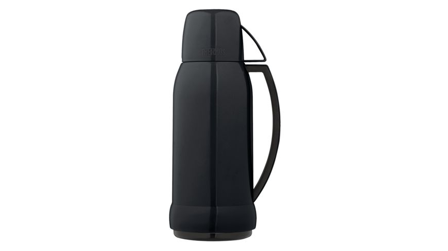 alfi Isolierflasche Jupitor schwarz 1 0l