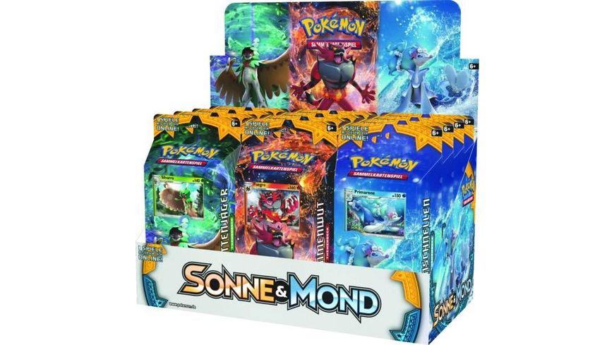 Pokemon Sammelkartenspiel Sonne Mond Themendeck sortiert