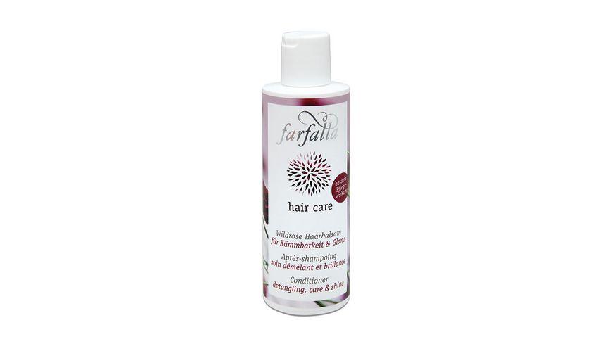 Farfalla hair care Wildrose Haarbalsam