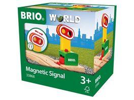 BRIO Bahn Magnetische Bahn Ampel