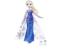 Hasbro Disney Die Eiskoenigin Die Eiskoenigin Zauber der Polarlichter Elsa Schneechen