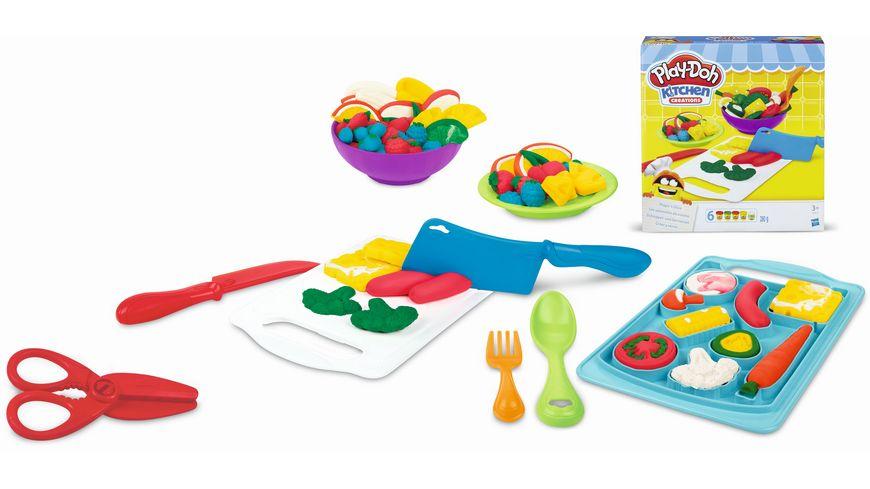 Hasbro Play Doh Schnippel und Servier Set