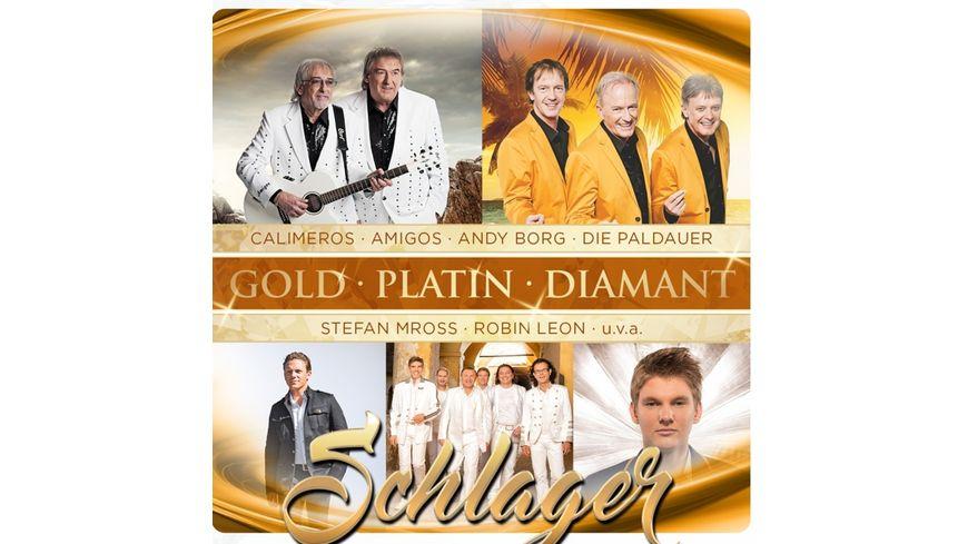 Schlager Gold Platin Diamant