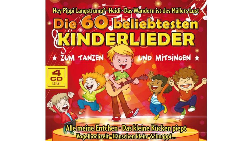 Die 60 beliebtesten Kinderlieder