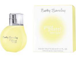 Betty Barclay pure pastel lemon Eau de Toilette Natural Spray