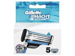 Gillette Systemklingen Mach3 Start 5 Stueck