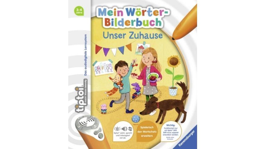 Ravensburger tiptoi Mein Woerter Bilderbuch Unser Zuhause