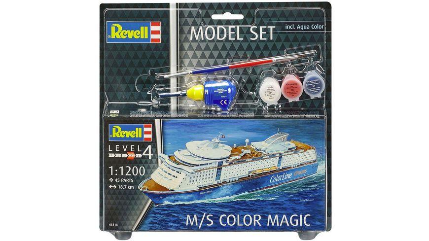 Revell 65818 Model Set M S Color Magic