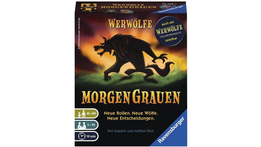 Ravensburger Spiel Werwoelfe MorgenGrauen