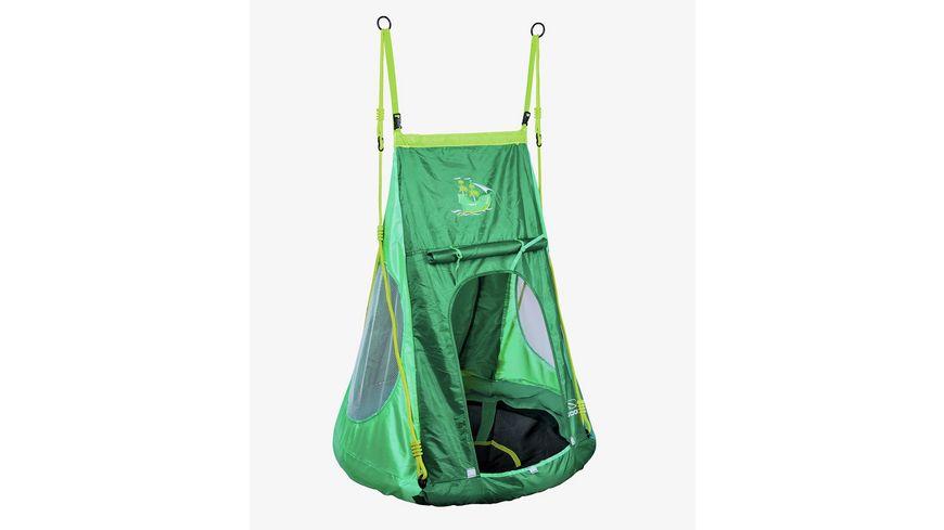 Hudora Nestschaukel mit Zelt Pirate 90 cm