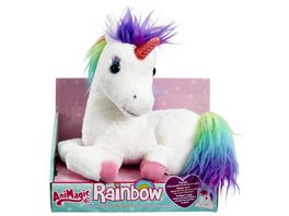 Goliath Toys Animagic Einhorn Rainbow mit leuchtendem Horn
