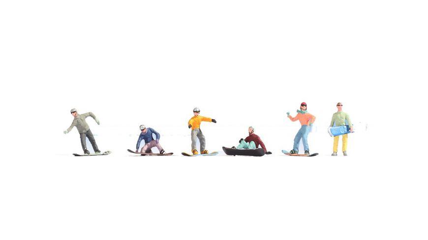 NOCH 15826 H0 FIGUREN Snowboarder