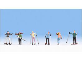 NOCH H0 15827 Skifahrer