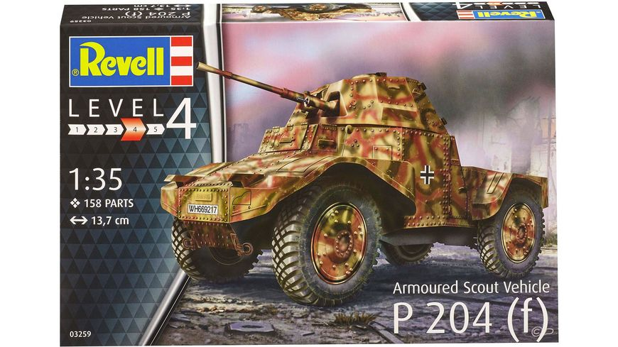 Revell 03259 Armoured Scout Vehicle P204 f
