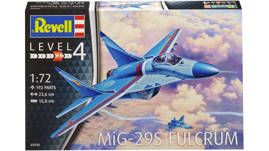 Revell 03936 MiG 29S Fulcrum