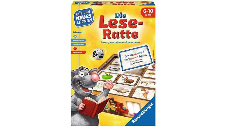 Ravensburger Spiel Die Lese Ratte Wissensspiel