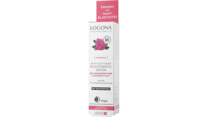 LOGONA Feuchtigkeits Serum Bio Damaszener Rose Kalpariane