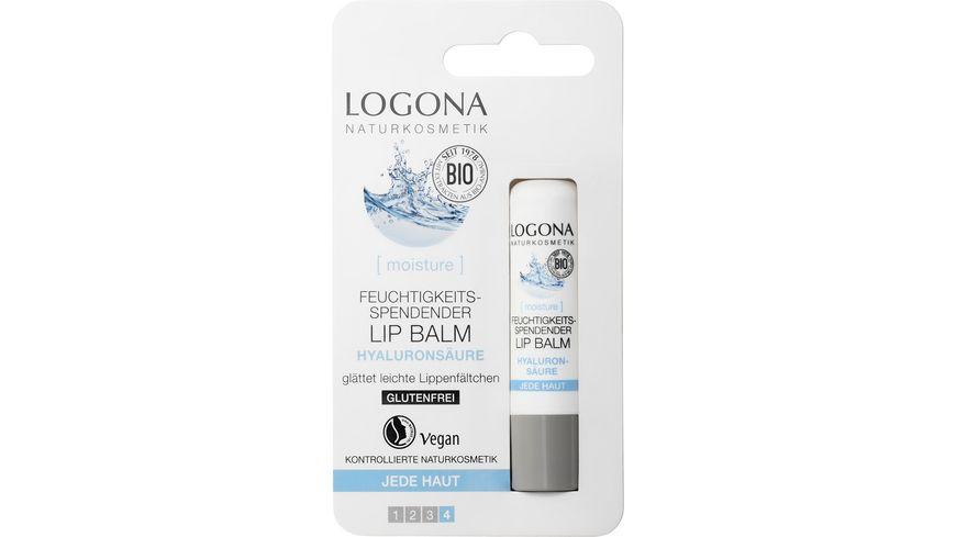 LOGONA Lip Balm Hyaluron